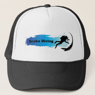 Unique Scuba Diving Trucker Hat
