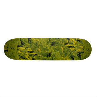Unique Seaweed Skateboard Deck