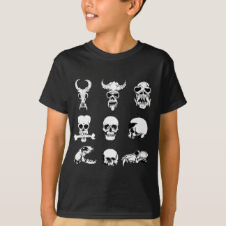 Unique Skull Gift for Men Cranium Man Present T-Shirt