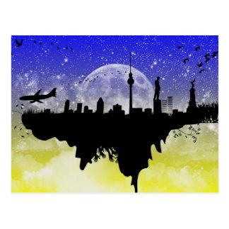Unique SkyScape Postcard