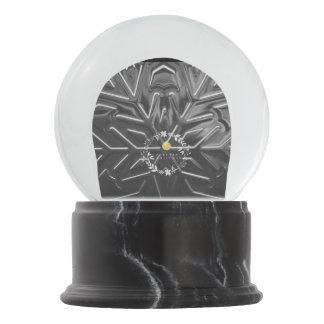 Unique Snowflake Snow Globe