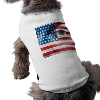 Unique Stars and Stripes design on your Cool Gift Sleeveless Dog Shirt