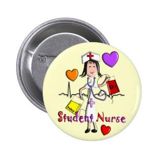 Unique Student Nurse Gifts 3D Graphics 6 Cm Round Badge