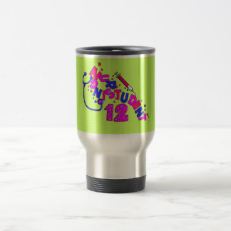 Unique Student Nurse Gifts 3D Graphics Travel Mug