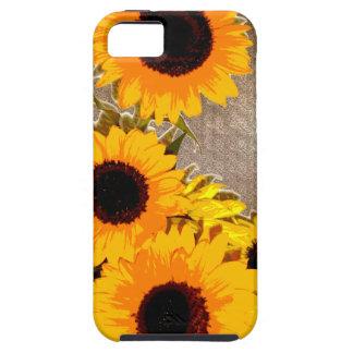 Unique sunflower bouquet case for iPhone 5/5S