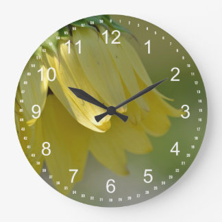 Unique Sunflower Large Clock