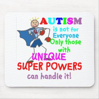 Unique Super Powers Autism Mouse Mat