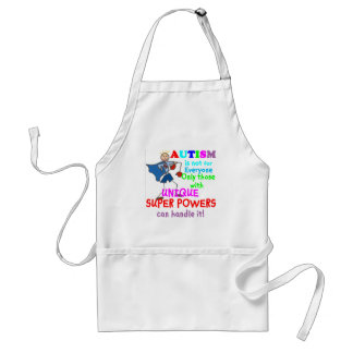 Unique Super Powers Autism Standard Apron