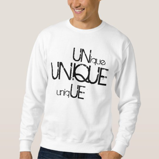 Unique Sweatshirt