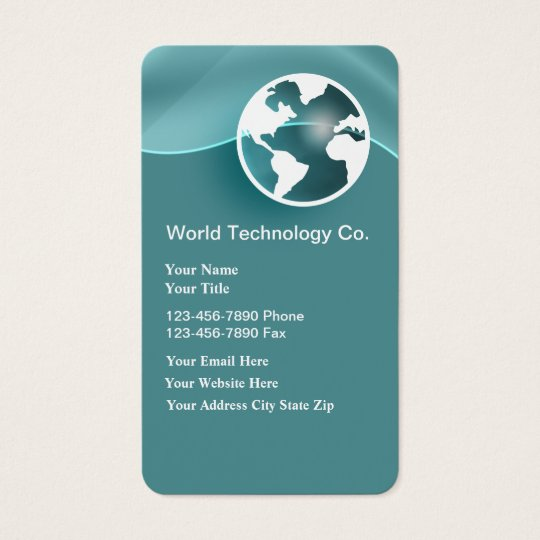 Unique Technology Business Cards