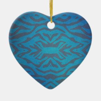 Unique Texture Design Ceramic Heart Decoration
