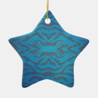 Unique Texture Design Ceramic Star Decoration
