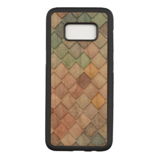 Unique Tile Pattern Carved Samsung Galaxy S8 Case