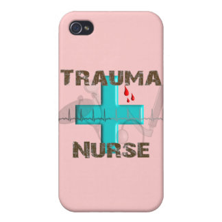 Unique Trauma Nurse T-Shirts and Gifts iPhone 4 Covers