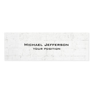 Unique Trendy Grey Wall Design Modern Pack Of Skinny Business Cards