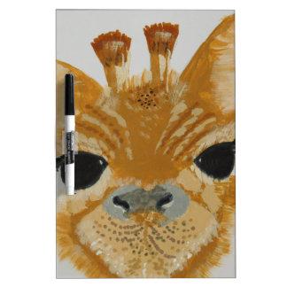 Unique Trendy Modern Eye Catching design Giraffe Dry Erase Board