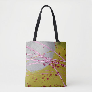 Unique Trendy Modern Eye Catching Tote Bag