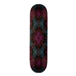 Unique trendy pattern skate board