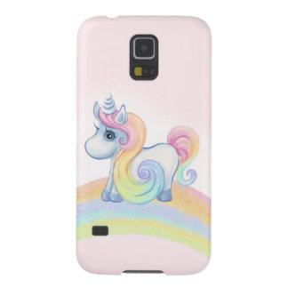 Unique Unicorn Pastel rainbow Galaxy S5 Case