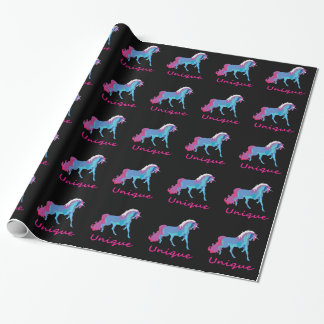 Unique Unicorn Wrapping Paper