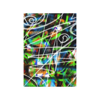 Unique Urban Abstract Gallery Wrapped Canvas