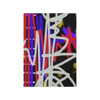 Unique Urban Abstract Gallery Wrap Canvas
