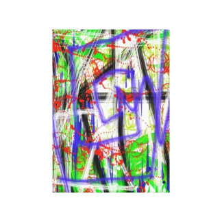 Unique Urban Abstract Stretched Canvas Prints