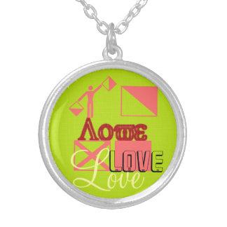 Unique Valentines Love Necklace