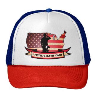 Unique Veterans Day honors Trucker Hat