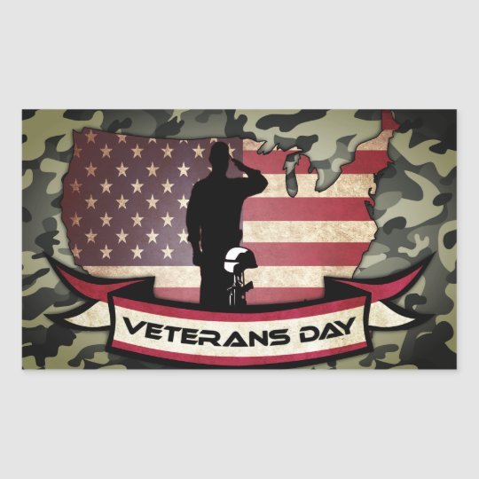 Unique Veterans Day honours Sticker