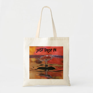 Unique Water Drop Tote