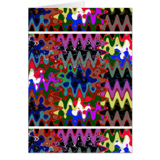 Unique Wave Pattern Lowprice  Party Giveaway gifts Greeting Card