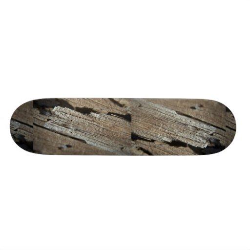 Unique Wood (3-D) Custom Skateboard