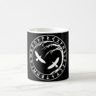 Unique Yggdrasil Futhark Mug