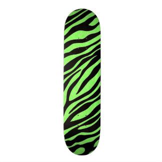 Unique Zebra Print Design Custom Skateboard