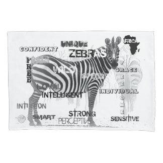 Unique Zebras Pillowcase