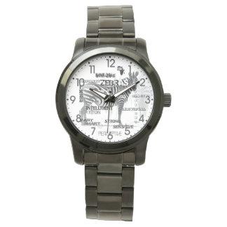 Unique Zebras Watch