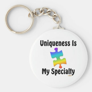 Uniqueness Is My Specialty Key Chains