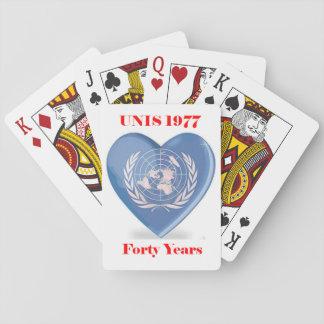 UNIS Reunion Playing Cards