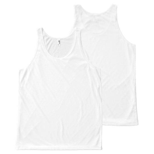 Custom All-Over Printed Unisex Vest