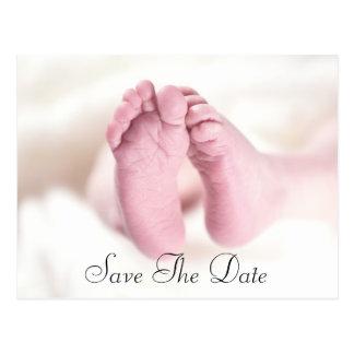 Unisex Baby Feet Postcard
