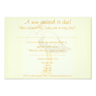 Unisex Baby Shower Invitation - Boy or Girl