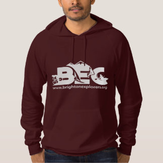 Unisex Cotton Fitted Hoody - DARK RED