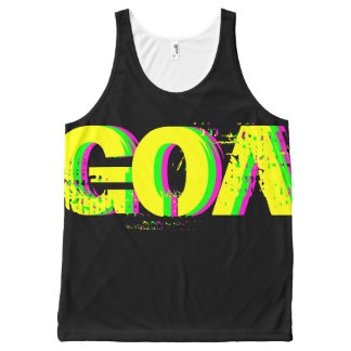 Unisex docker great psychedelic reason Goa 1 All-Over Print Tank Top