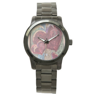 Unisex Hearts Time Watch