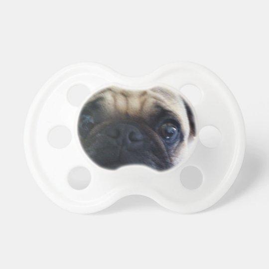 Unisex Pug Face Pacifier