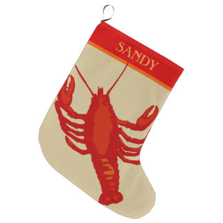 Unisex Red Lobster Crustacean Personalized