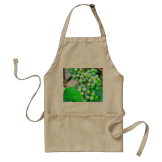 "Unisex ""Wine Anyone"" White Grapes Apron"
