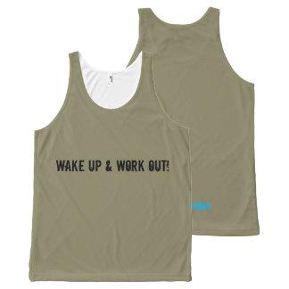 Unisex Workout Vest