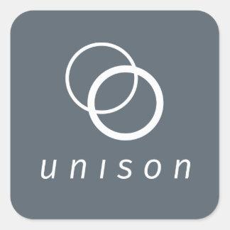 Unison stickers